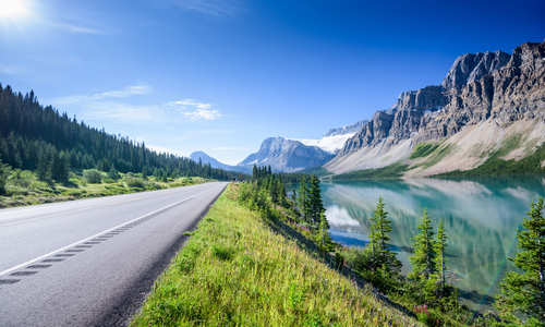 Road to Banff, Canada