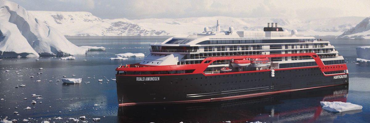 Hurtigruten names hybrid explorer ships