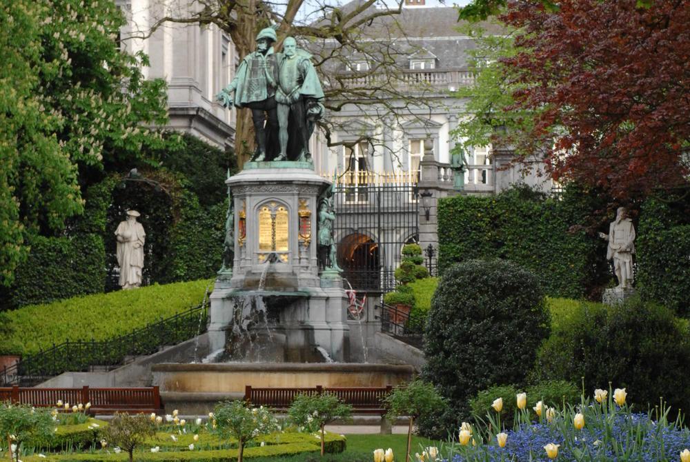 Sablon Gardens, Brussels
