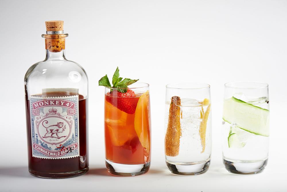 Gin Tasting Hotel Amigo