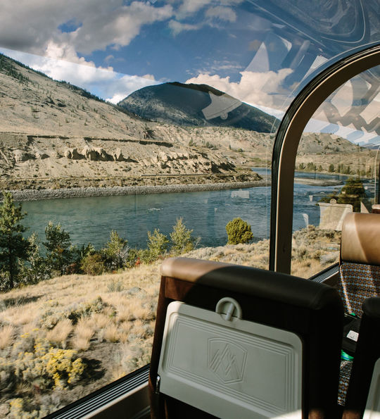View from Rocky Mountaineer