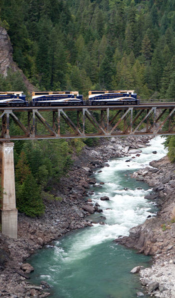 Rocky Mountaineer River Crossing