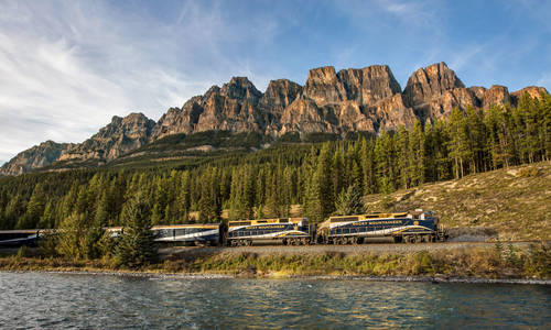 Rocky Mountaineer, Vancouver to Calgary