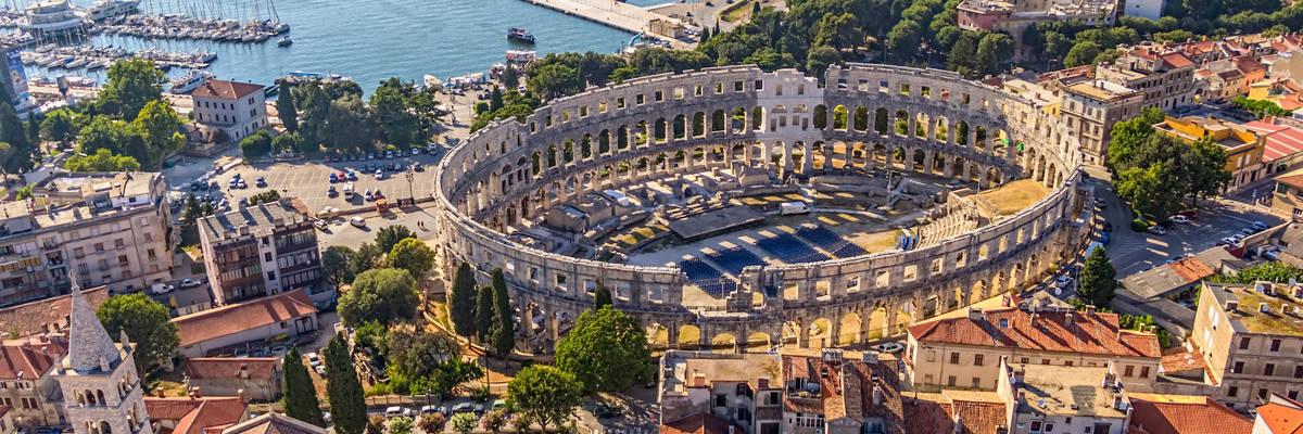 Roman arena, UNESCO whs, Pula, croatia 1
