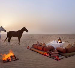 Romantic Dining Experience, Bab al Shams