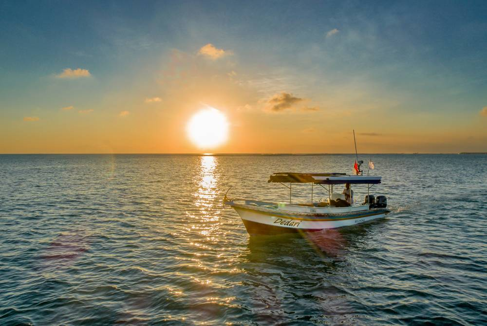 Sunset cruise, Bali