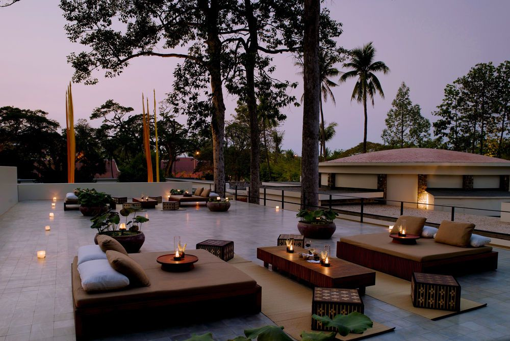 Roof Terrace, Amansara, Siem Reap, Cambodia