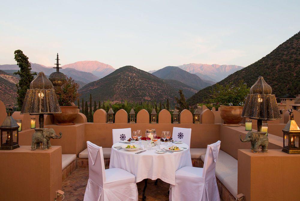 Roof Terrace Restaurant, Kasbah Tamadot
