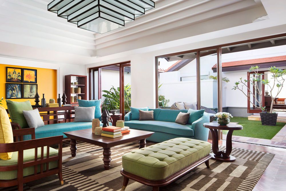 RooftopGarden, Park Hyatt, Siem Reap, Cambodia