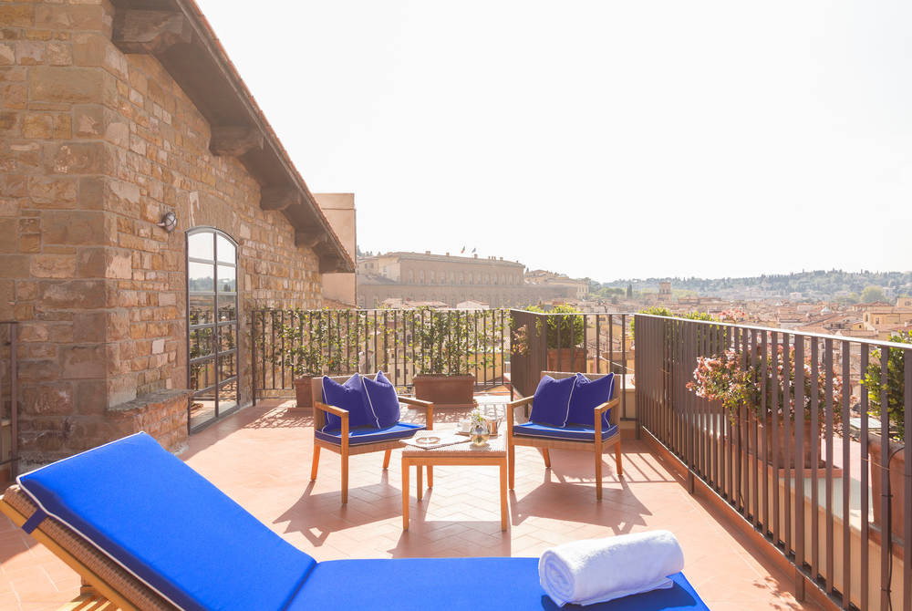 Rooftop Terrace Suite, Hotel Lungarno