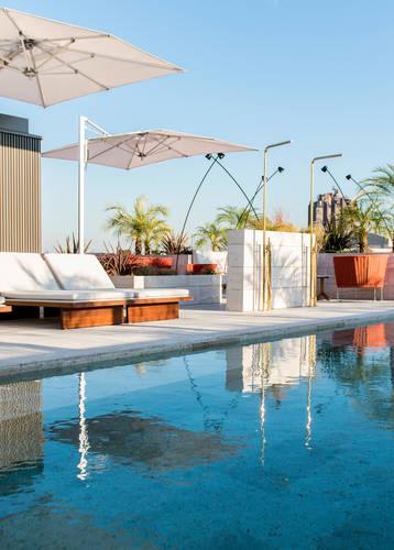 Rooftop pool, Almanac, Barcelona