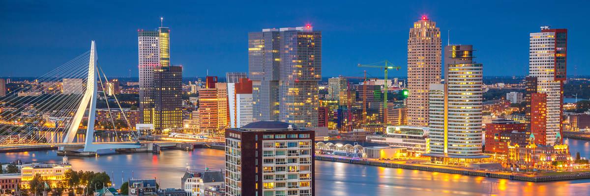 Rotterdam. Cityscape image of Rotterdam, Netherlands