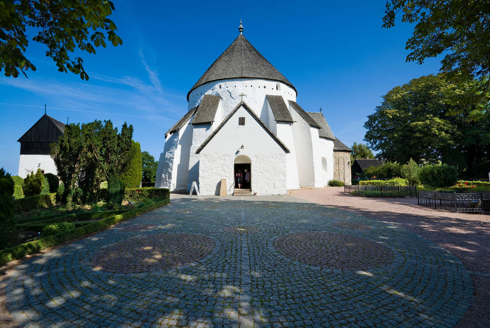 Round church, Osterlars, Bornholm