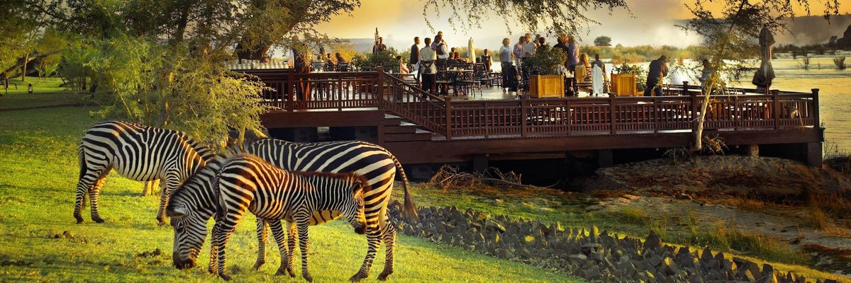 Royal Livingstone Hotel, Zimbabwe