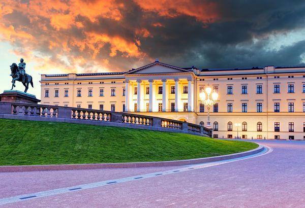 Royal Palace Oslo, Historical, Oslo, Norway