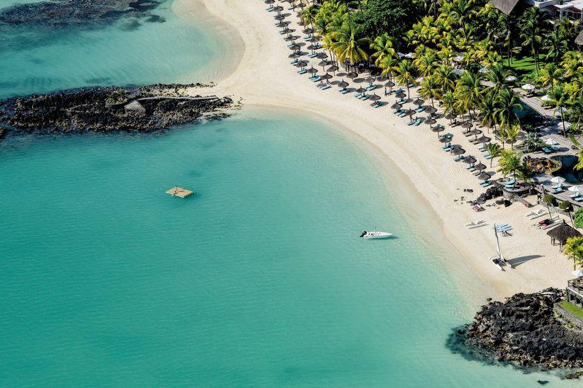 Beach at Royal Palm Beachcomber Luxury, Mauritius