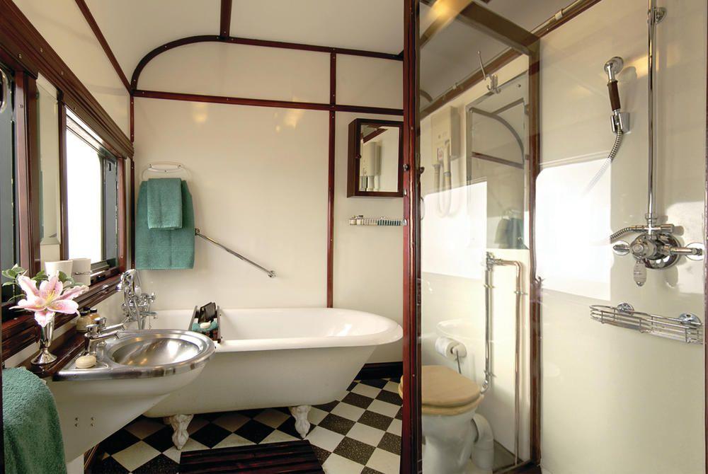 Royal Suite Bathroom, Rovos Rail