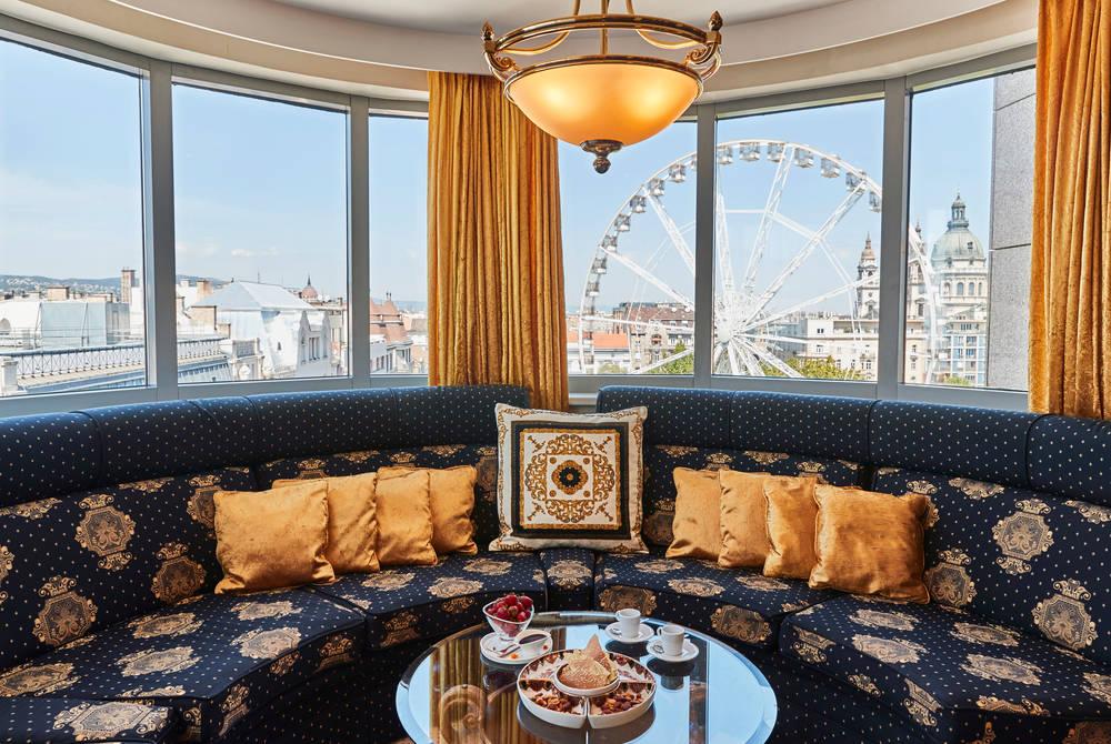 Royal Suite, Kempinski Hotel Corvinus