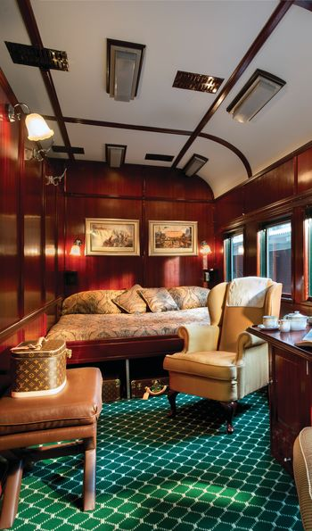 Royal Suite, Rovos Rail