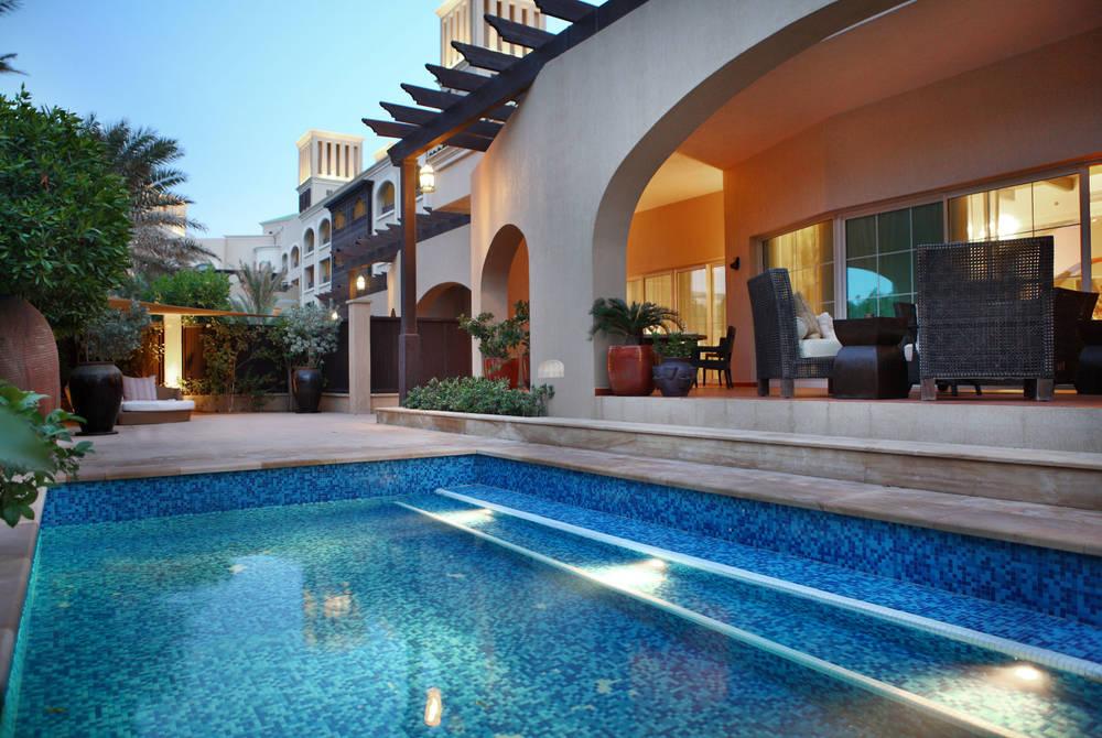 Royal Villa pool, Anantara Desert Islands Resort & Spa