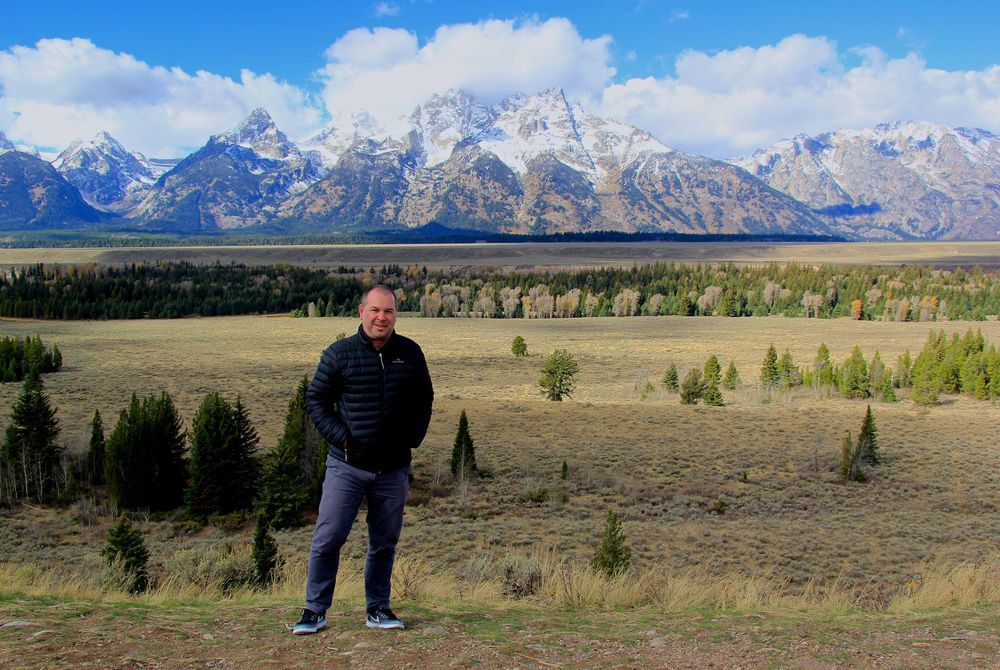 Rui at Grand Teton NP USA