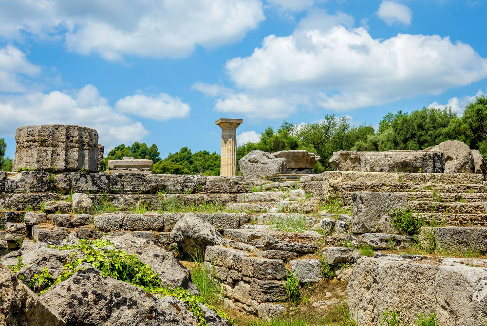 Ruin of Olympia, Katakolon, Greece