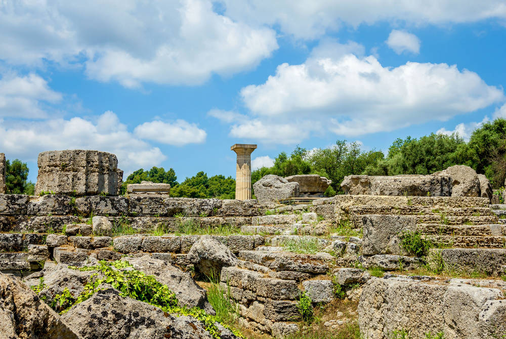 Ruins of Olympia, Katakolon, Greece