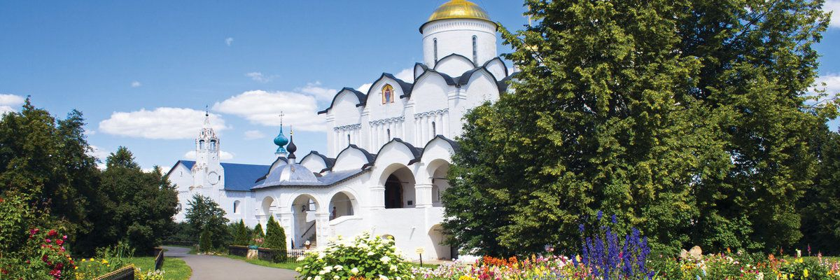 Russian church, Suzdal, Russia