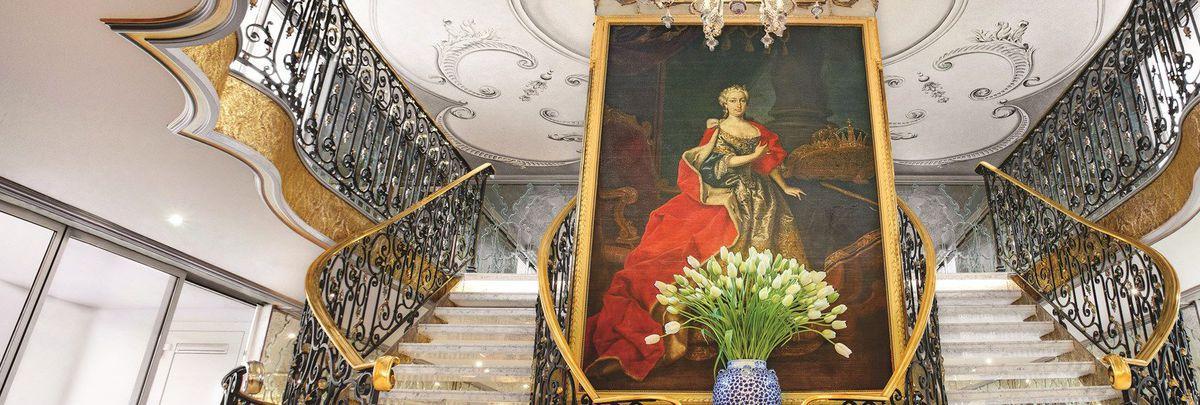 SS Maria Theresa naming and ship tour