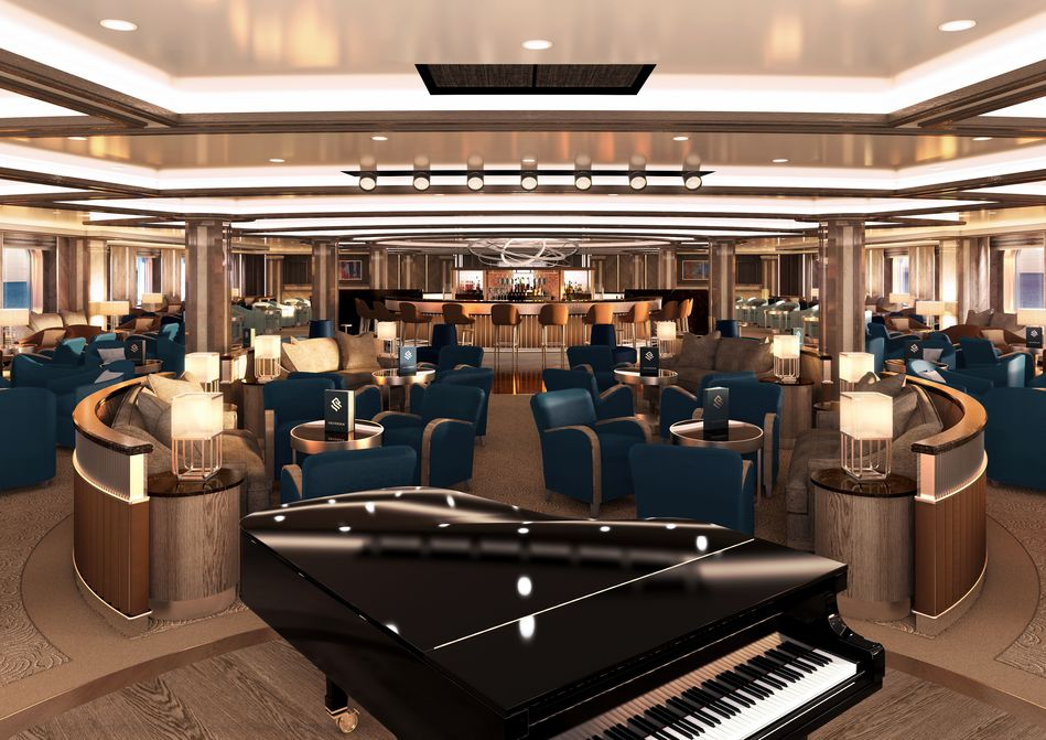 The Dolce Vita Lounge, Silver Moon, Silversea Cruises