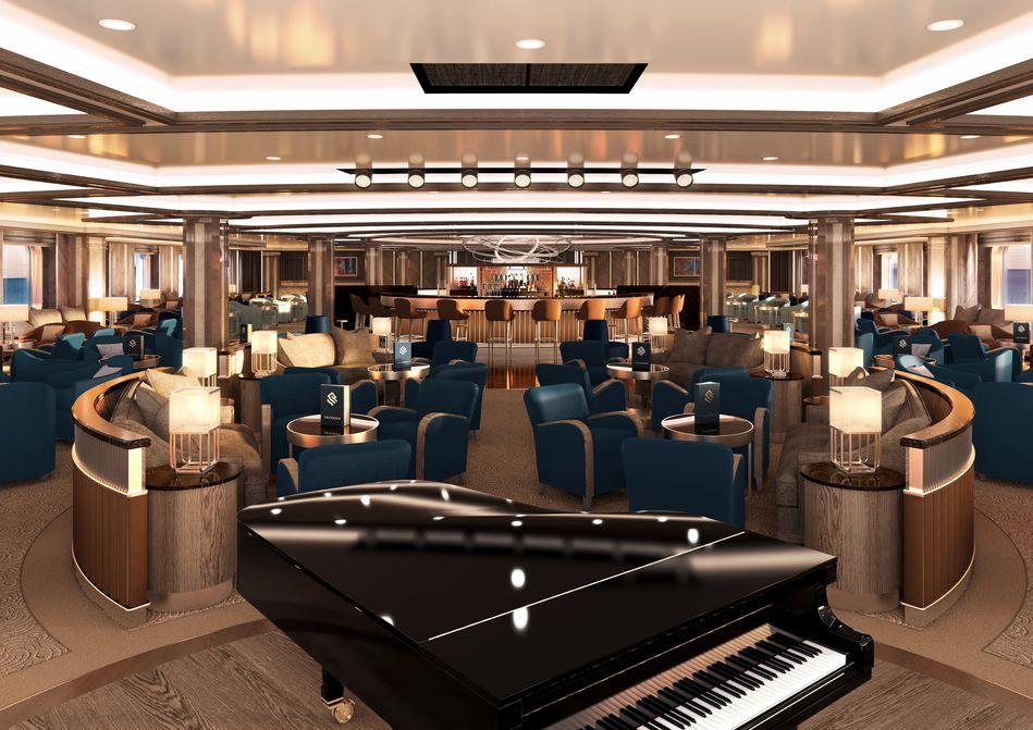 Dolce Vita Lounge, Silver Moon, Silversea Cruises
