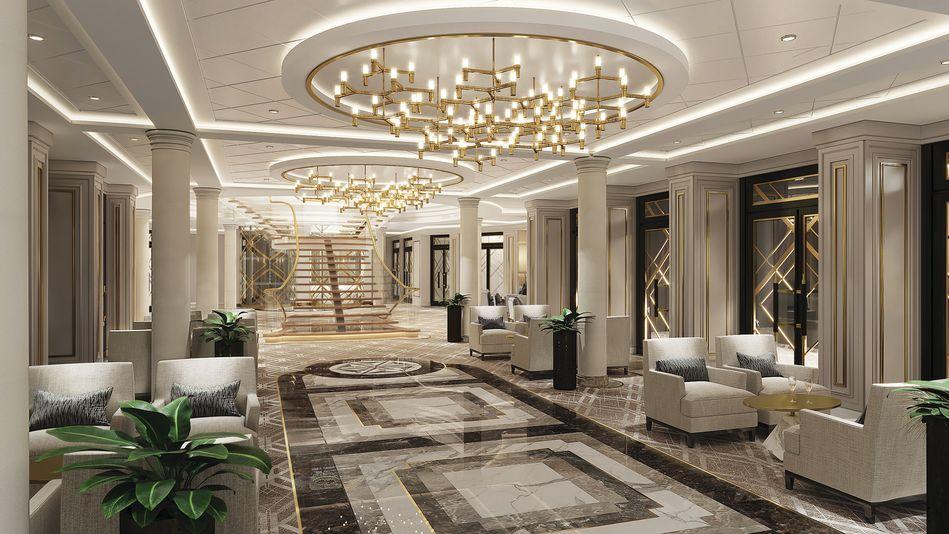 The Atrium on Seven Seas Splendor