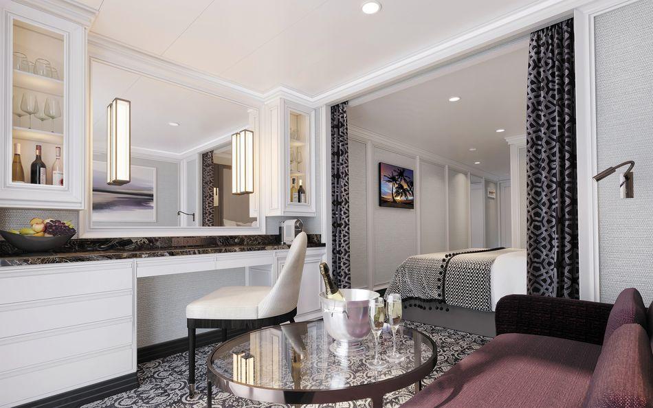 The Deluxe Veranda Suite on Regent Cruises Seven Seas Splendor