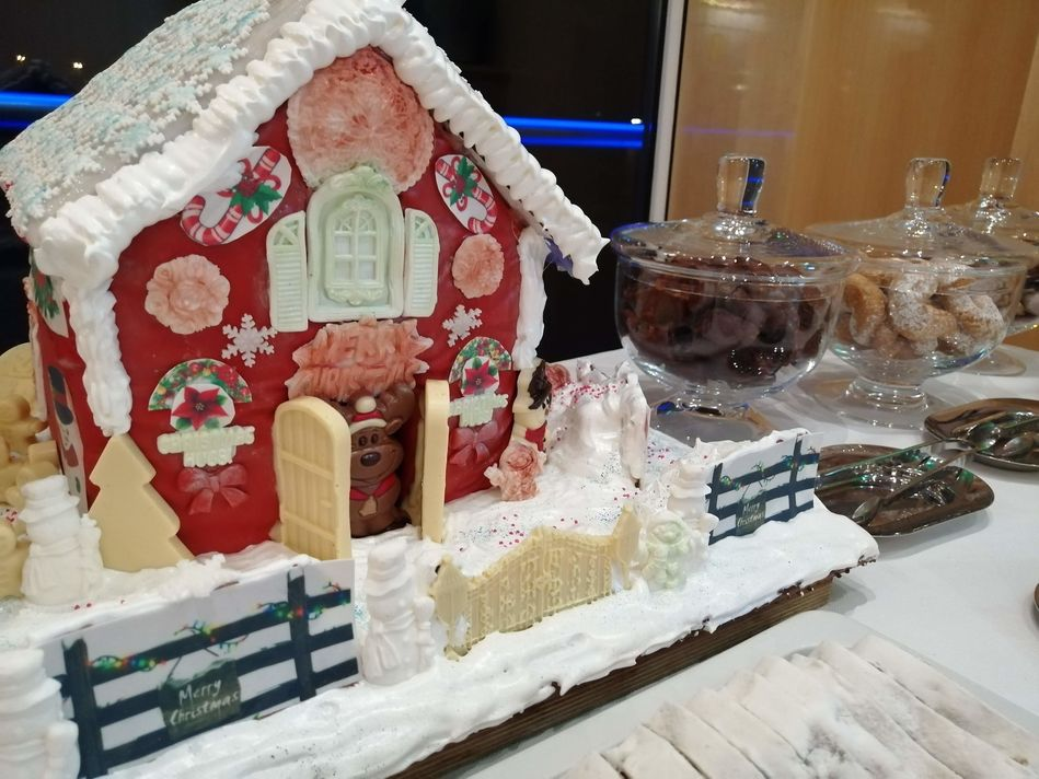 Christmas treats on SS Beatrice, Uniworld Boutique River Cruises