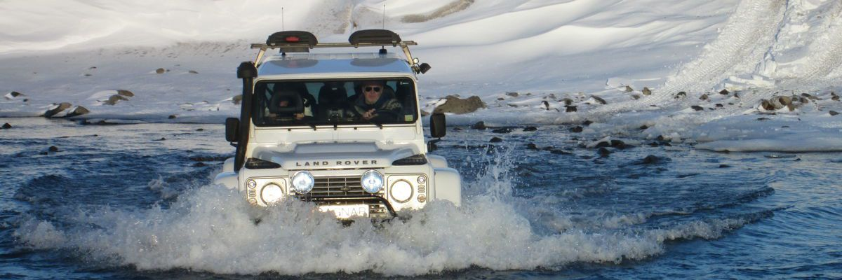SUPERJEEP, Iceland