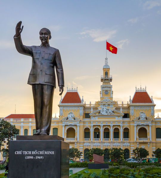City Hall, Saigon, Ho Chi Minh City, Vietnam