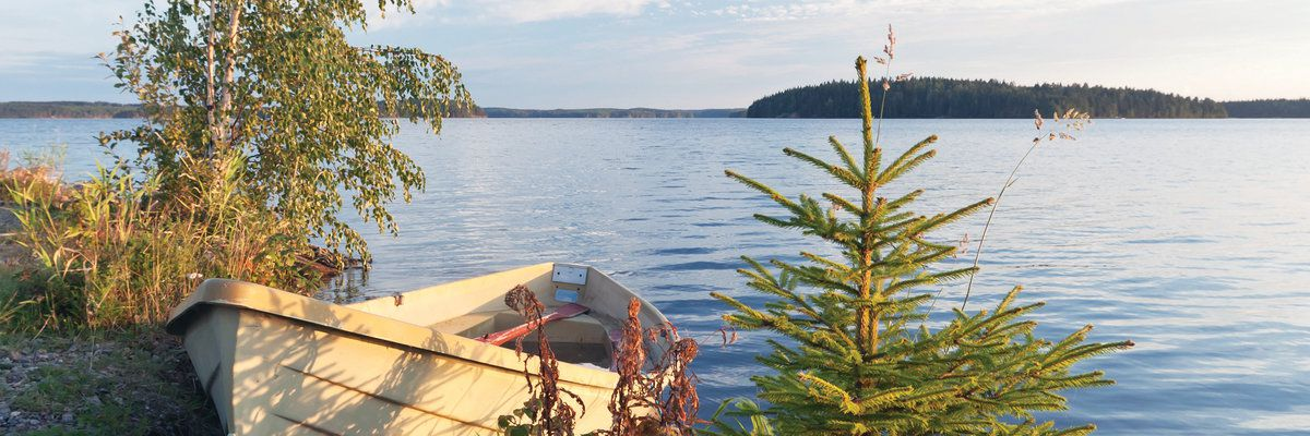 Saimaa lake, Finland