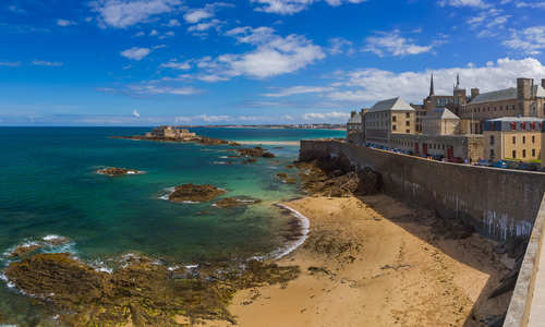 Saint-Malo in Bretagne France