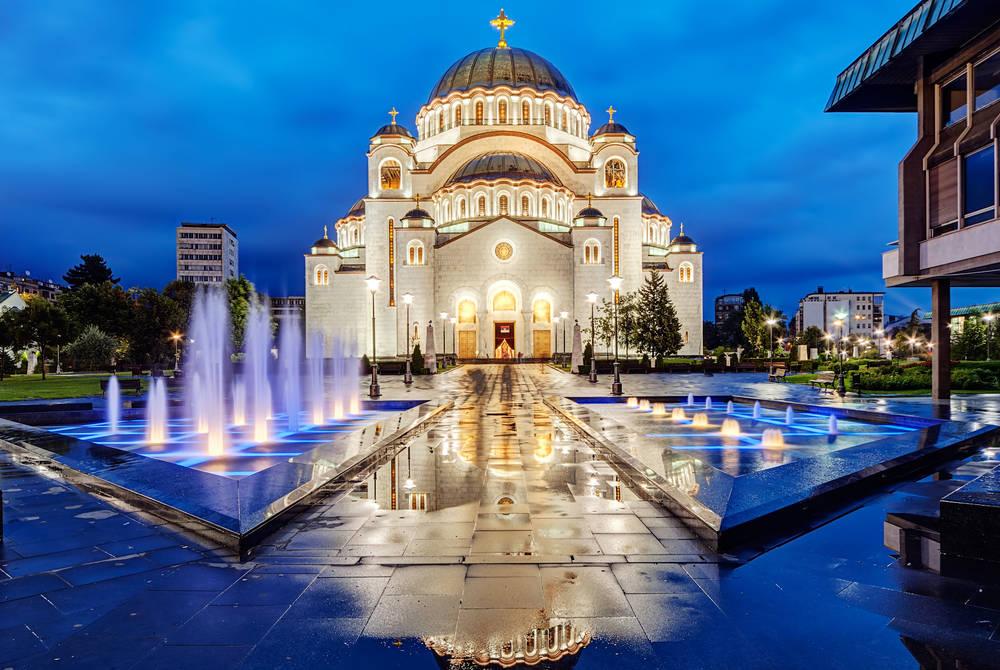 Saint Sava temple, Belgrade, Serbia