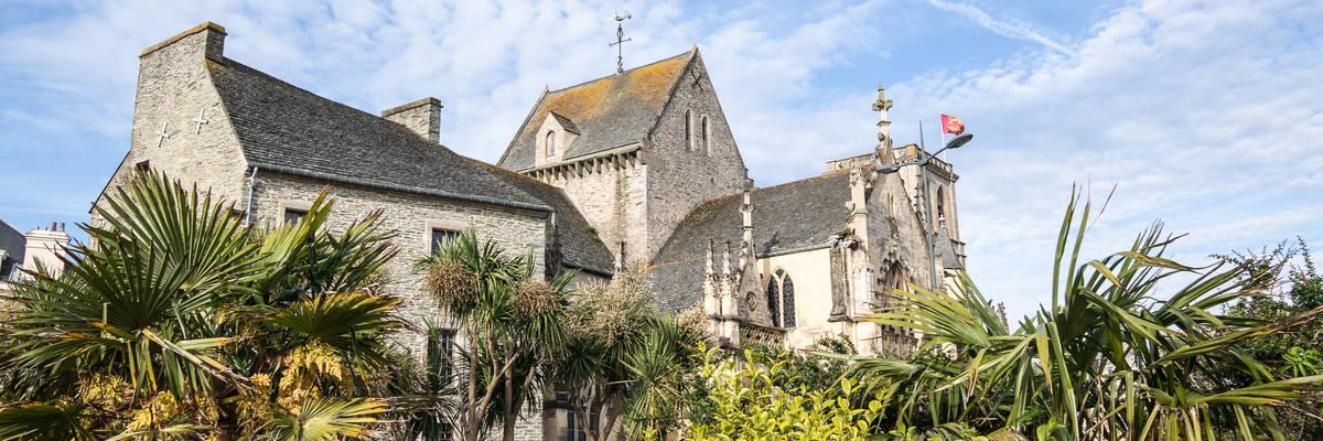 Sainte Trinite (Saint Trinity) Basilica in Cherbourg, Normandy, France