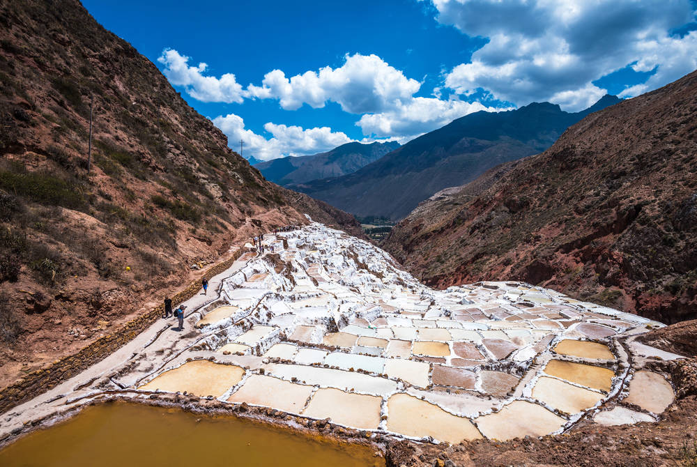 Maras Salt Mines, Sacred Valley