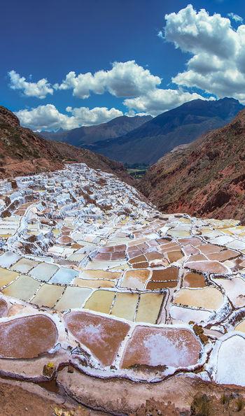 Salinas de Maras (Salt Mines) near Cusco, Peru