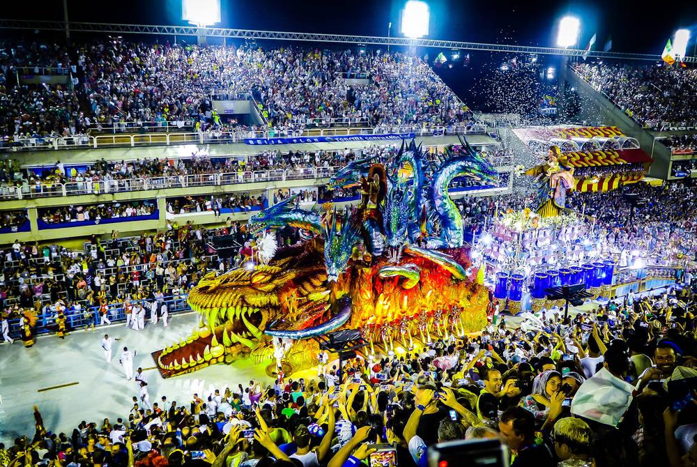 Sambadrome, Rio Carnival