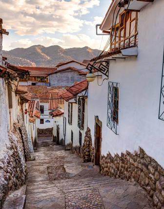 San Blas streets, Cusco