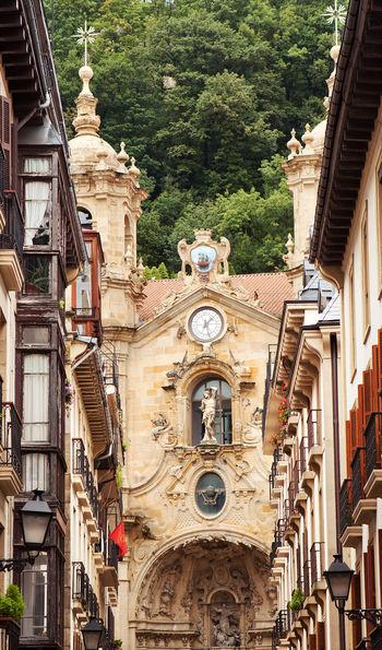 San Sebastián old town