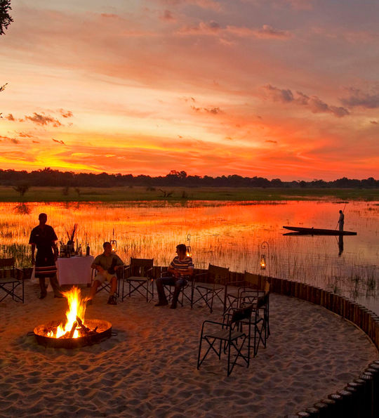 Sanctuary Chief's Camp, Moremi Wildlife Reserve