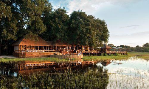 Sanctuary Chief's Camp, Okavango Delta, Moremi Wildlife Reserve