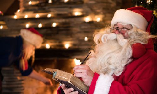 Meet Santa in Lapland, Finland