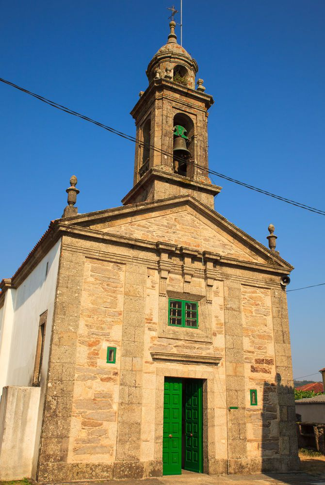 Santa Eulalia Church, O Pedrouzo, Spain