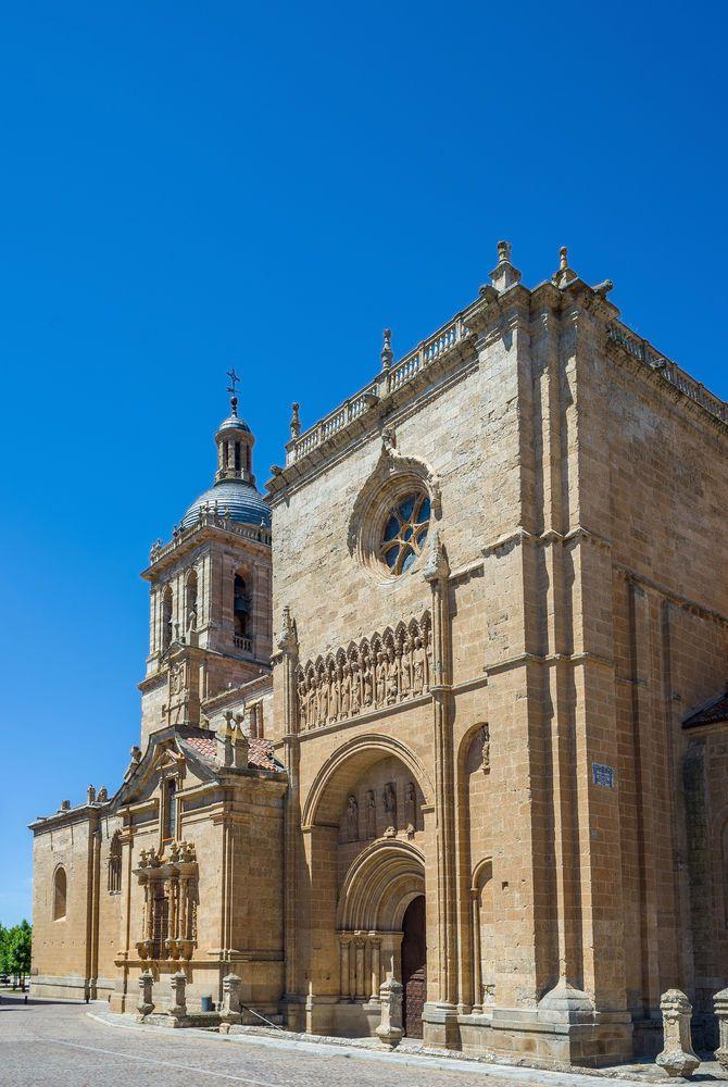 Santa Maria Cathedral in Ciudad Rodrigo, Salamanca